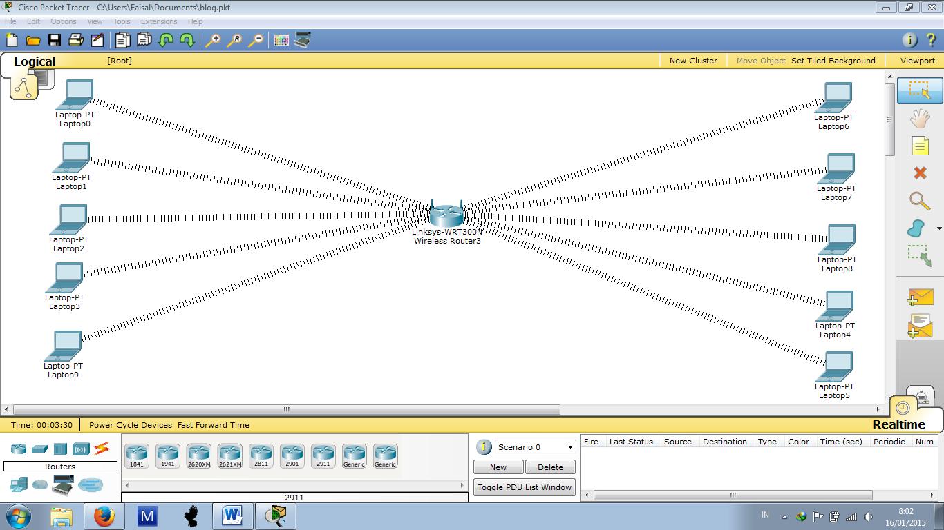 cara Menggunakan Cisco Packet Tracer