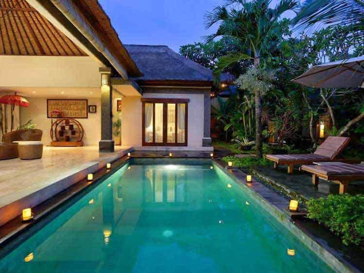 desain rumah yang ada kolam renangnya